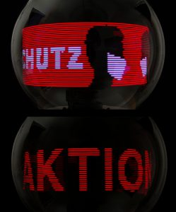 Rotierendes Grafik LED Display